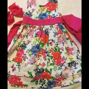 hartstrings Other - ❤️Hartstrings lovely flower dress EUC 4t❤️