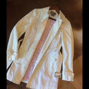 Rave Jackets & Blazers - White coat by Rave in size:M