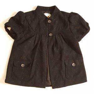 Nick and Mo Jackets & Blazers - NIC and Mo Short-Sleeved Babydoll Jacket