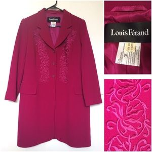 Louis Feraud Jackets & Blazers - Louis Feraud Long Coat