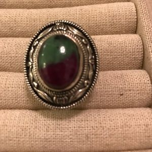Jewelry - Ruby Zoisite Ring