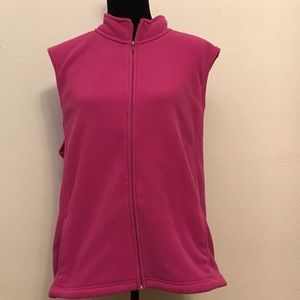 L.L. Bean Jackets & Blazers - L.L bean Pink Vest  size 3x