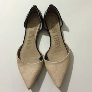 Sam & Libby D'Orsay Flat shoes size 7