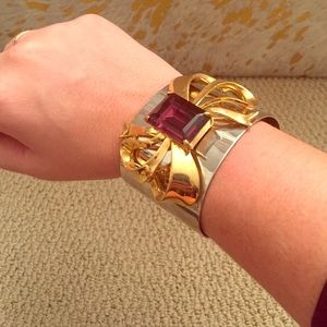 Banana Republic gold cuff