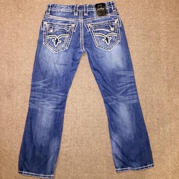 7b2415a3 Rock Revival Jasper Mens Boot Cut Jeans. M_58142e4599086a884306722a