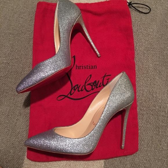 online store 1a30b 05d55 Christian Louboutin Pigalle Follies 37 Glitter
