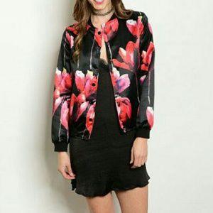 Jackets & Blazers - Tulip bomber jacket NWOT