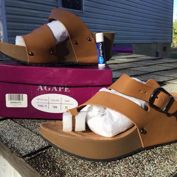 3dbd7bc34ca8 Agape Shoes - Wedge Sandals