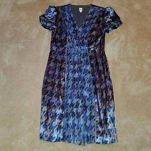 Sangria Dresses & Skirts - Sangria Silk Dress