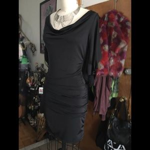 SALE! Open Sleeve Ruched Dress sz S
