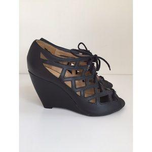 MIA Shoes - MIA Laser Cut Wedge