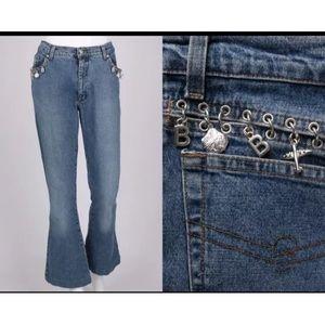 Blumarine Denim - Authentic Blumarine Jeans, charms SZ 40 (6)