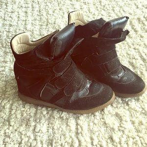 Nasty Gal Shoes - Nasty Gal Wedge Sneakers