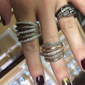 """Brighton """"neptunes rings"""" ring"""
