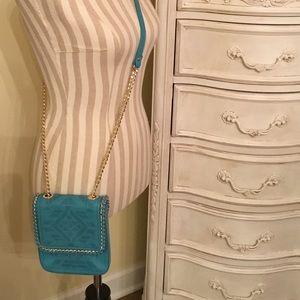 Cute Turquoise Henri Bendel Crossbody Bag