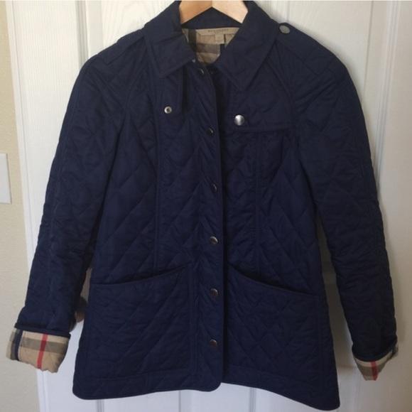 19d166969 Burberry Jackets & Coats | Navy Blue Jacket | Poshmark
