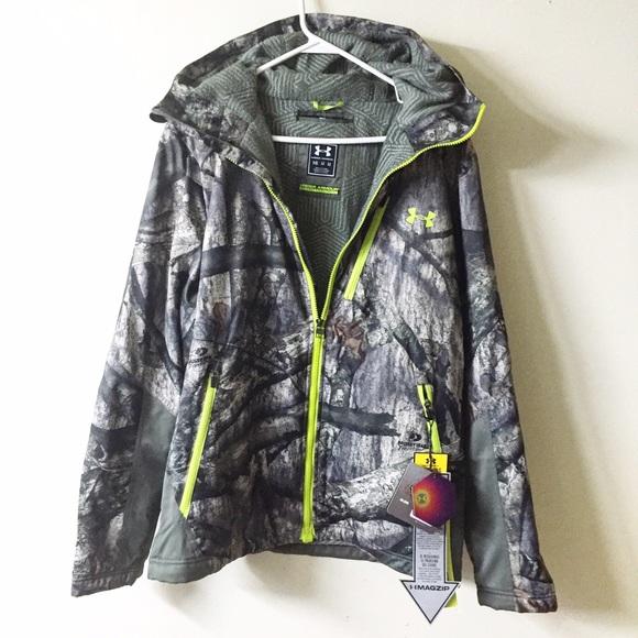 ef09e1f7cc9ab Under Armour Jackets & Coats | Nwt Storm2 Scent Control Camo Jacket ...