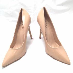 ShuShop Shoes - ShuShop Natural Color Patent Pumps