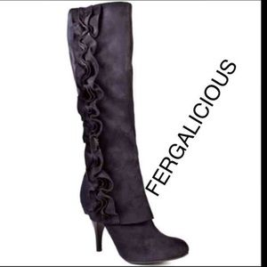 Fergalicious Shoes - FERGIELICIOUS SUEDE BOOT