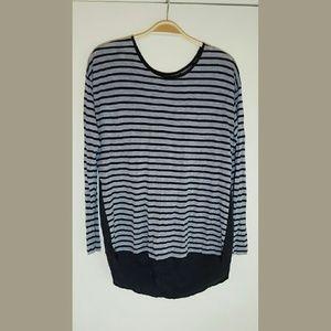 Kensie long sleeve blouse