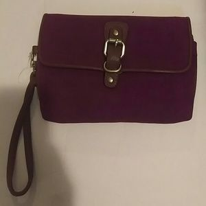 Purple. Clutch@