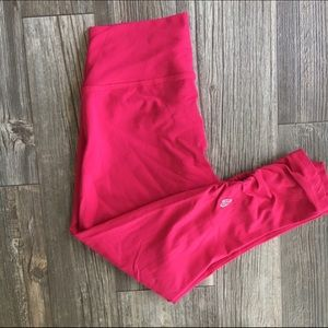 Ellie Pink Workout Capri