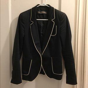 Chanel off white blazer with