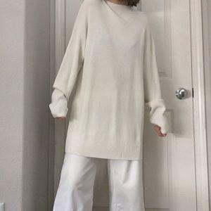 8214811b4b6 H M Sweaters - NWT High neck cream oversized sweater dress