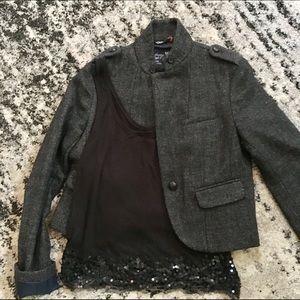 American Eagle wool blazer