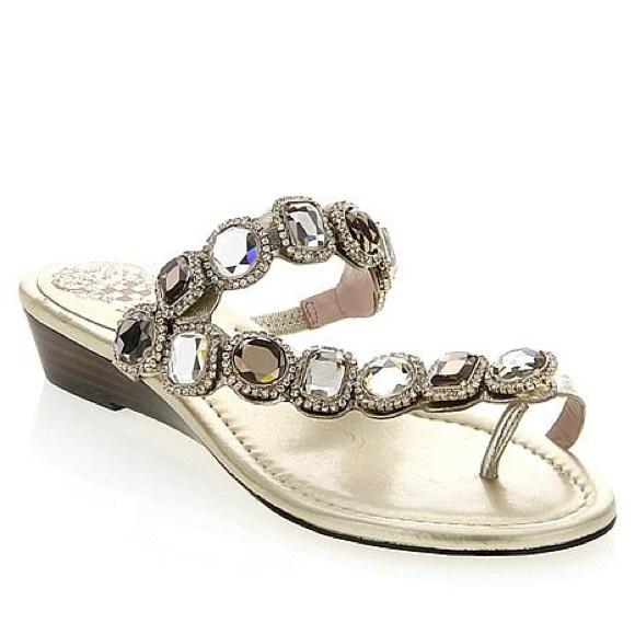 Vince Camuto Shoes Idola Jewel Sandals Poshmark