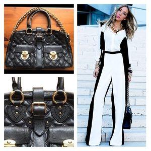 CHANEL Handbags - 💯Marc Jacobs Venetia Quilted Black $1300 Like NEW