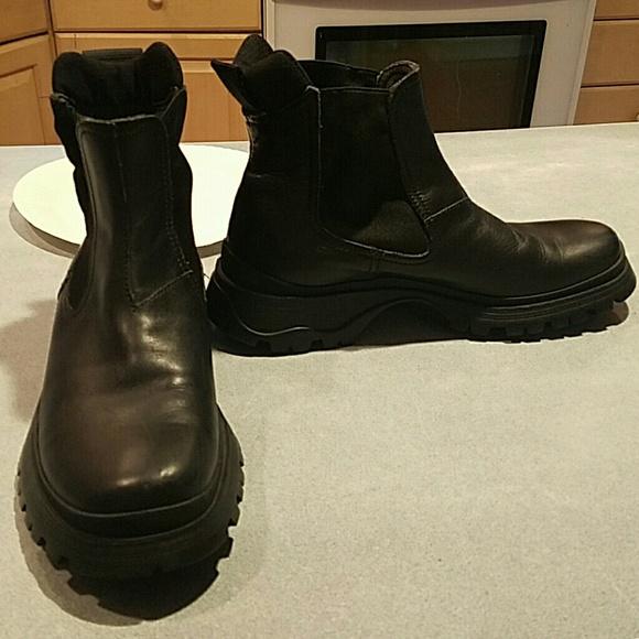 ab0731bd Prada Lug Sole Boots