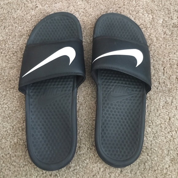 cca22a6f8e27 Nike Shoes - Nike - slide on sandals - men s size 9 women s 12
