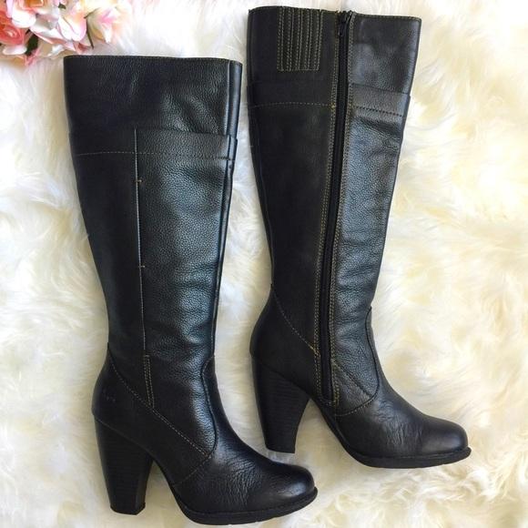 a2c76b67b9e b.o.c by Born Black Tall Heeled Boots