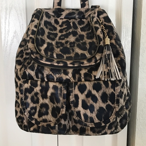 b8f7d0aefc imoshion Handbags - Convertible Backpack in Cheetah print