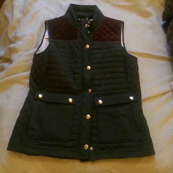 Vineyard Vines Jackets Coats Green Quilted Hunting Vest Poshmark
