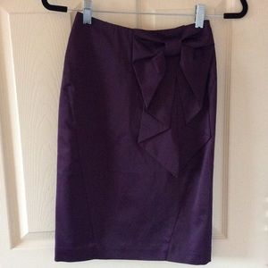 H&M Purple pencil skirt