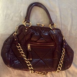 Marc Jacobs patch work quilted leather bag