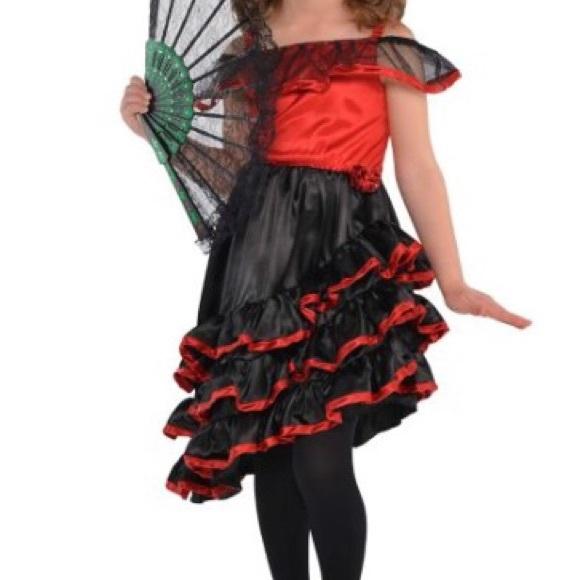Party City Girl S Spanish Dancer Costume