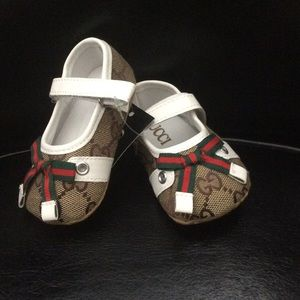 off Gucci Other Baby Gucci suede driver shoes from