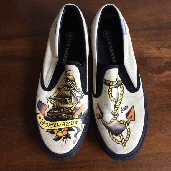 d7520ec203d8 Converse Shoes - Sailor Jerry Slip-on Converse