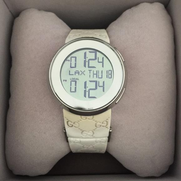 da96db7be56 Gucci Accessories - Authentic Gucci women s digital white watch!