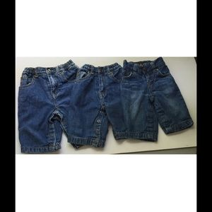 Gap & The Children's Place Other - Lot of 3 Baby Boys Lined Denim Jeans Gap TCP