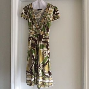 BCBG Max Azria camo dress - S