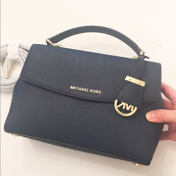 21% off Michael Kors Handbags - NWT Michael Kors Ava navy blue ...