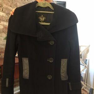 Mackage Jackets & Blazers - Mackage navy winter pea coat. Size XS.
