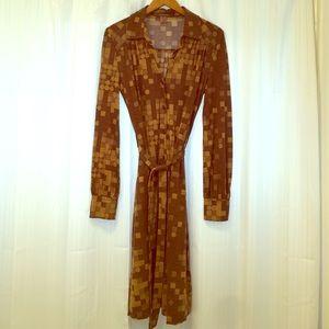 Orla Keily Dresses & Skirts - Orla Kiely 100% wool vintage inspired dress