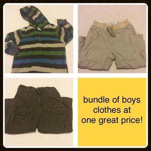 Other - GYMBOREE jacket and boys bundle 🍂