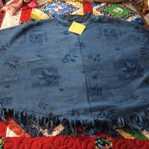 Denim & Co. Jackets & Blazers - 💥Host Pick 3/25!!💥 New 'One Size Plus' Poncho