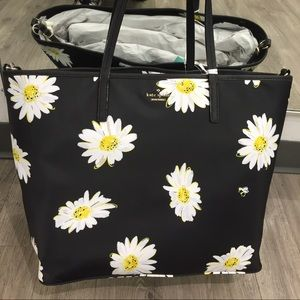 Kate Spade Sunflower tote, brand new